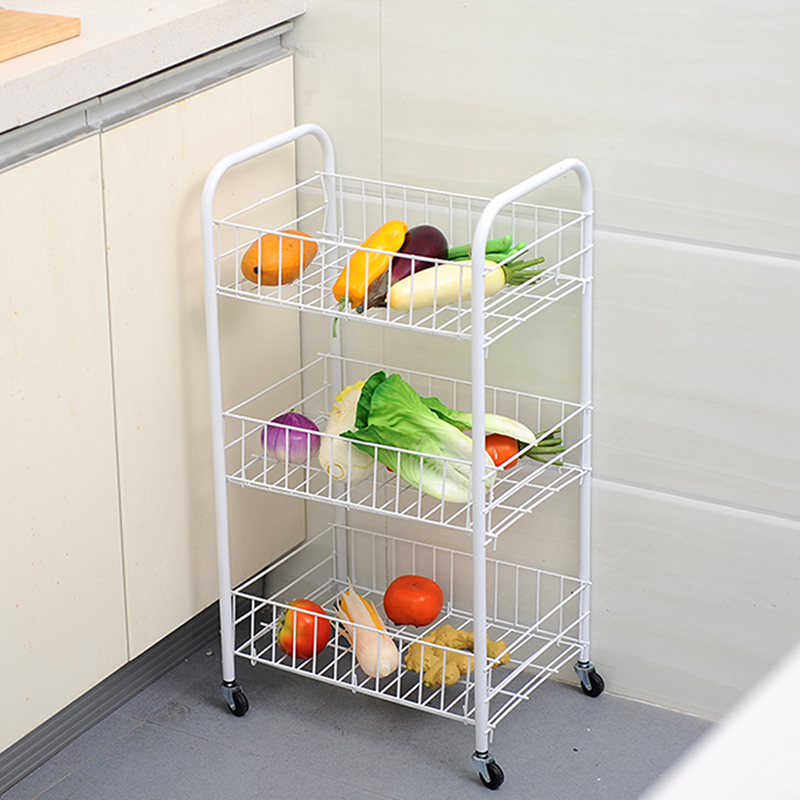 Kitchen Stainless steel 3 layers Stands Storage Racks ...