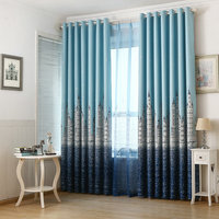 Hot Sale Eco Friendly Printed Curtains For Kids Children Boys Girls Princess Customized Ready Made Blackout