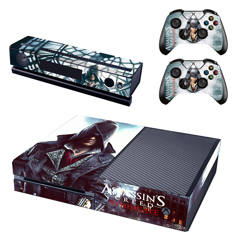 Assassin Vinyl Skin Sticker Protector for Microsoft Xbox One and 2 controller skins Stickers for XBOXONE GSTM0171