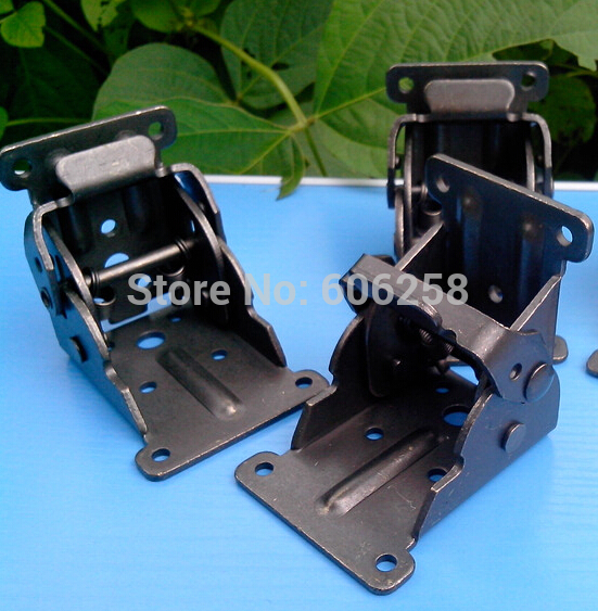 Black Folding Hinge With Screw Folding Table Legs Hinges