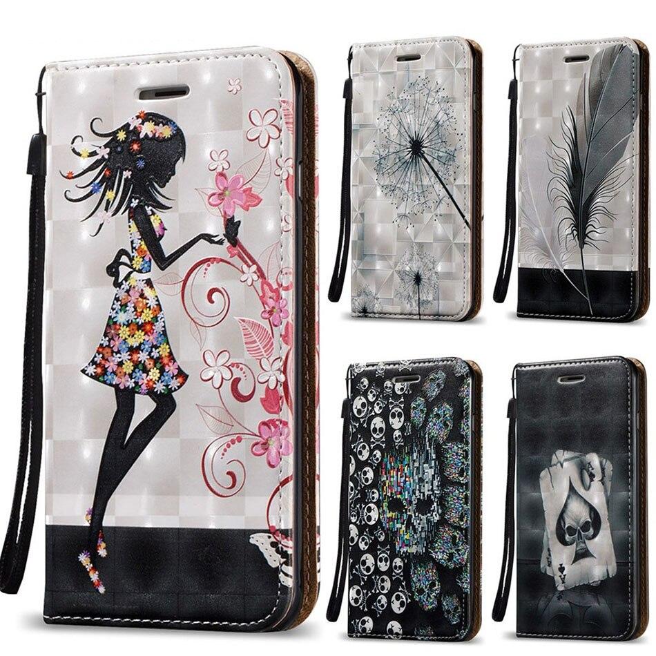 Fashion Magnetic Flip Case For Huawei Honor 8 9 Mate 10 P20 Pro P10 Plus P9 P8 Lite 2017 Nova 2s 2i 2 Plus Enjoy 6s 7s Cover B14