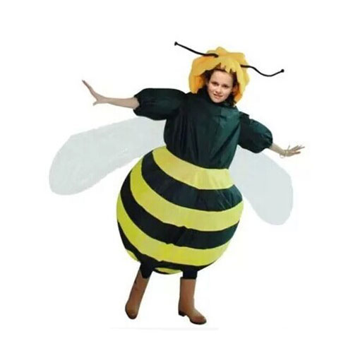 mascot costume Maya the bee Costume for Christmas Adult Men Women Inflatable costume Fancy dress with free shipping