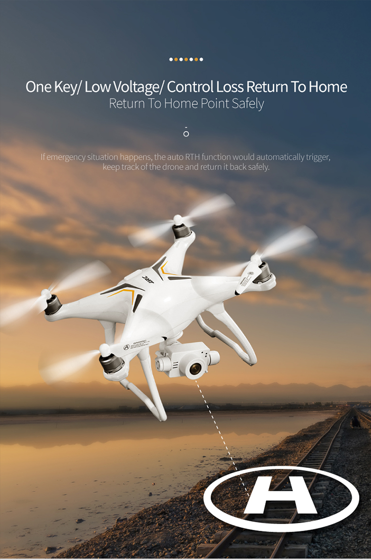 HCDSKY X6 GPS Brushless Professional 5G Follow Me WiFi FPV 1080P HD Camera VS