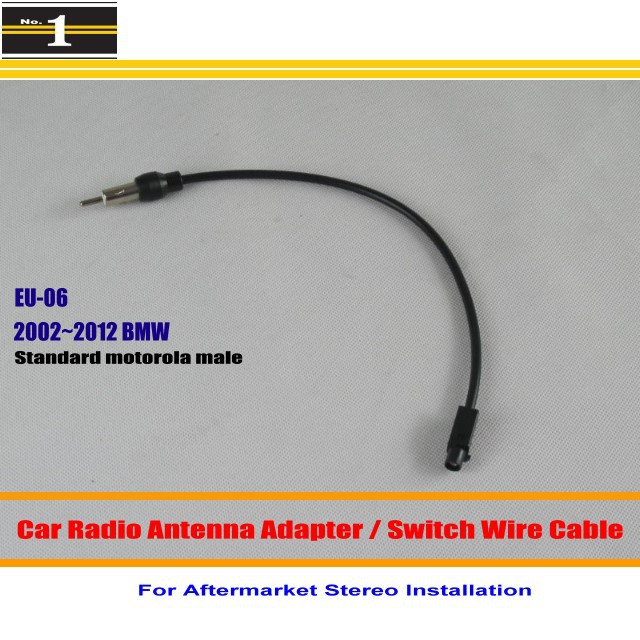compare prices on bmw radio wiring online shopping buy low price for bmw 1 3 series x3 x5 z4 car radio antenna adapter aftermarket stereo