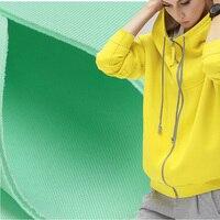 พื้นที่ฝ้ายผ้าผ้าถักคอมโพสิตยืดหยุ่นรายละเอียดฟองอากาศผ้าแฮนด์