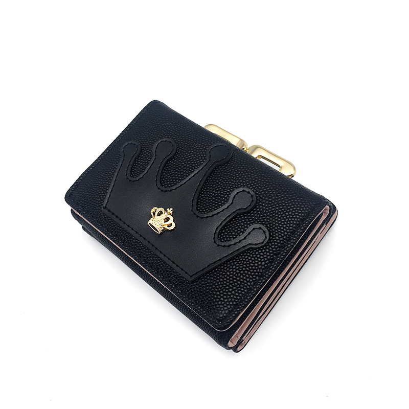 New Arrival Wallets Fashion Women Short Wallets Design Multi-function Purse Card Holder Coin Purse Three Fold Carteira Feminina