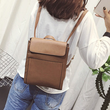 Бесплатная доставка новая мода марка женщины рюкзак женская школа мешок женский сумка на плечо 100% в натуральном выражении съемки оптовая цена
