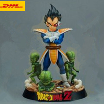 8/'/'Dragon Ball Z Super Saiyan Vegeta and Trun Father With Son Goku Action Figure