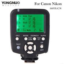 YONGNUO YN560-TX Flash Trigger Controller Transmitter for YN560 III IV YN660 as RF-602 RF-605 RF-603 II for Canon Nikon
