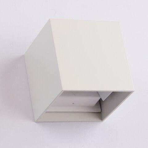 ip65 12 w breve moderno cubo ajustavel