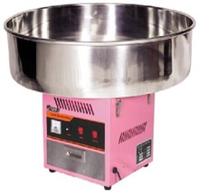 Free shipping With CE Commercial use Cotton candy machine 720MM large diameter can floss machine