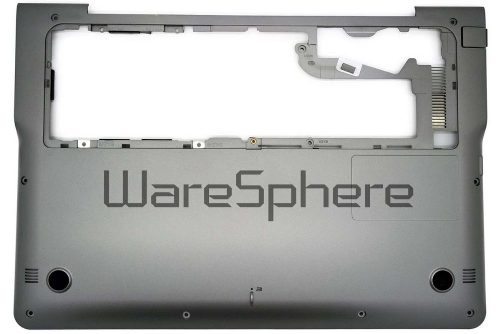 Bottom Base Case for Samsung NP530U3C NP535U3B NP535U3C BA75-03713A Gray Sliver
