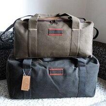 Duffle перемещения поездки дорожные багажа складные емкости холст большой сумки водонепроницаемый