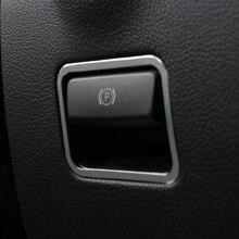 1PCS Aluminum alloy Interior Electronic Handbrake Frame Cover Trim For Mercedes-Benz Vito W447 2014-2018