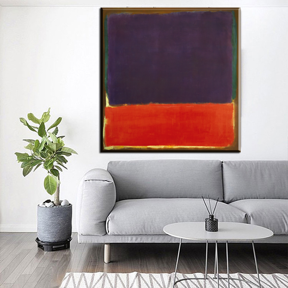 xh1678 mark rothko colored modern abstract art canvas pictures paintings mainland