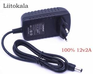 Image 1 - LiitoKala 12 V 2 một đồng hồ đo Adapter, sạc đa phù hợp cho lii 500