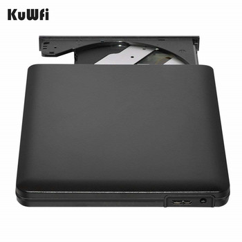 External DVD CD Burner Drive USB 3.0 Por...
