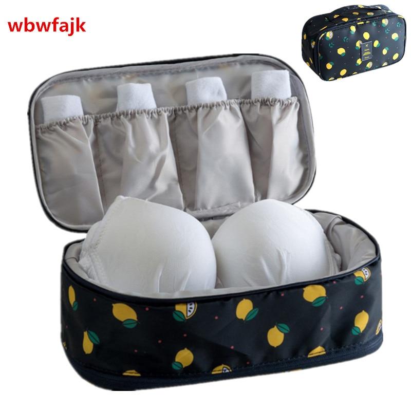 Women Travel Accessories Bra Underwear Organizer Bag Portable Weekend Overnight Cosmetics Socks Finishing Pouch Make Up Storage