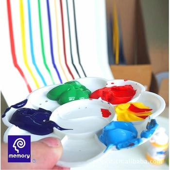 Tubos De Pintura De Tela Diy Memory Textile 12 Colores Set * 12ml Suministros De Arte Pintura Acrílica