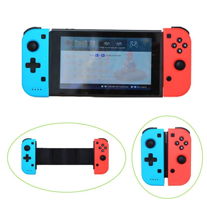 Juego de Bluetooth inalámbrico para Nintend interruptor Joystick Gamepad para teléfono móvil juegos Joystick