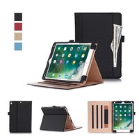 Business Stand PU Leather Case For iPad Pro 10.5 2017 Luxury Hand Strap Smart Tablet Case Cover for iPad Pro 10.5 inch
