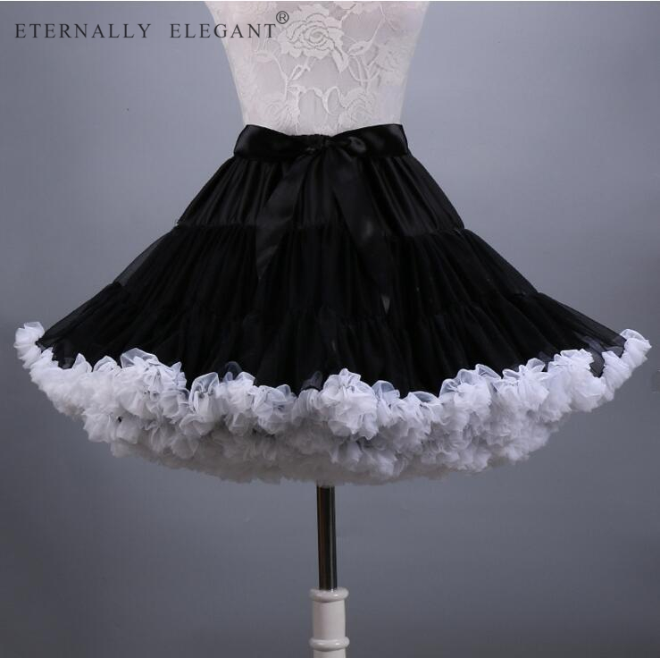 2018 Hot Sale Colorful Tulle Girls Petticoat Underskirt Lolita Faldas Tulle Skirt  EE807