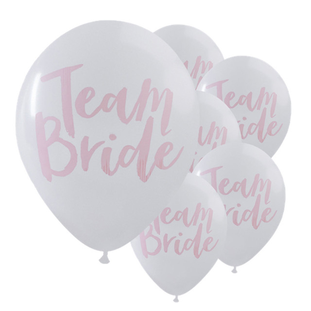 New qualified dropship 10pc wedding decoration team bride white pink new qualified dropship 10pc wedding decoration team bride white pink hen night do party wedding latex junglespirit Images