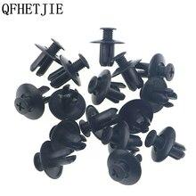 QFHETJIE 50pcs 8mm Automotive fasteners Universal Purpose Plastic Expansion Rive