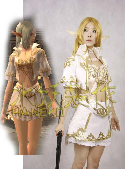 From Cosplay Lineage Costumes Robe Anime Elder Ii Majestic Elven In 3RLj45Aq