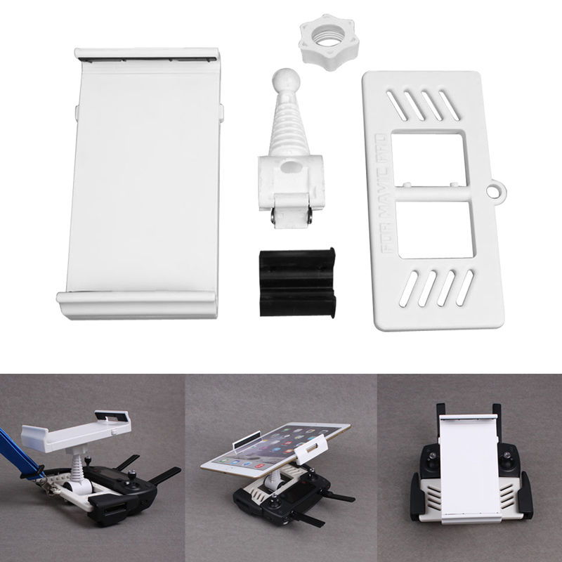 Phone Tablet Extension Bracket Mount 360 Rotation Holder for DJI <font><b>Mavic</b></font> <font><b>Pro</b></font>/for iphone 7/car plate holder