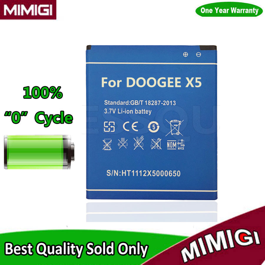 Original 2400mAh Battery For Doogee X5 X5S PRO Batterie batterij Accumulator AKKU ACCU AKU