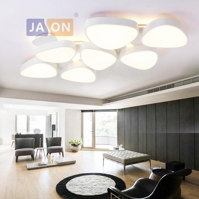 LED Modern Iron Acryl White LED Lamp.LED Light.Ceiling Lights.LED Ceiling Light. Ceiling Lamp For Bedroom