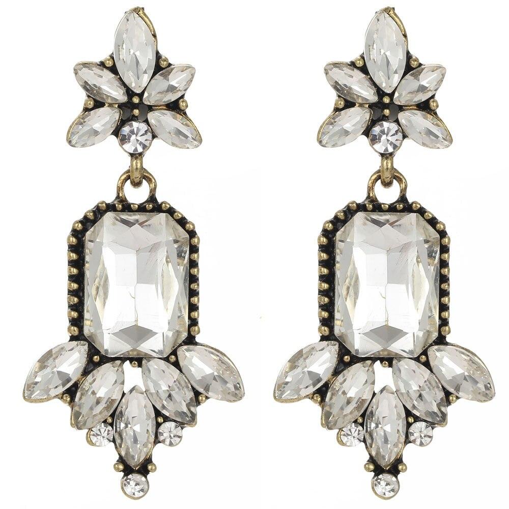 Dangle Crystal Earring For Women Girls E824