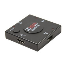 Centechia Mini 3 Port HDMI Switch Switcher Splitter 3 Input 1 Output Box HDMI Selector untuk PS3 PS4 Smart HDTV 1080P(China)