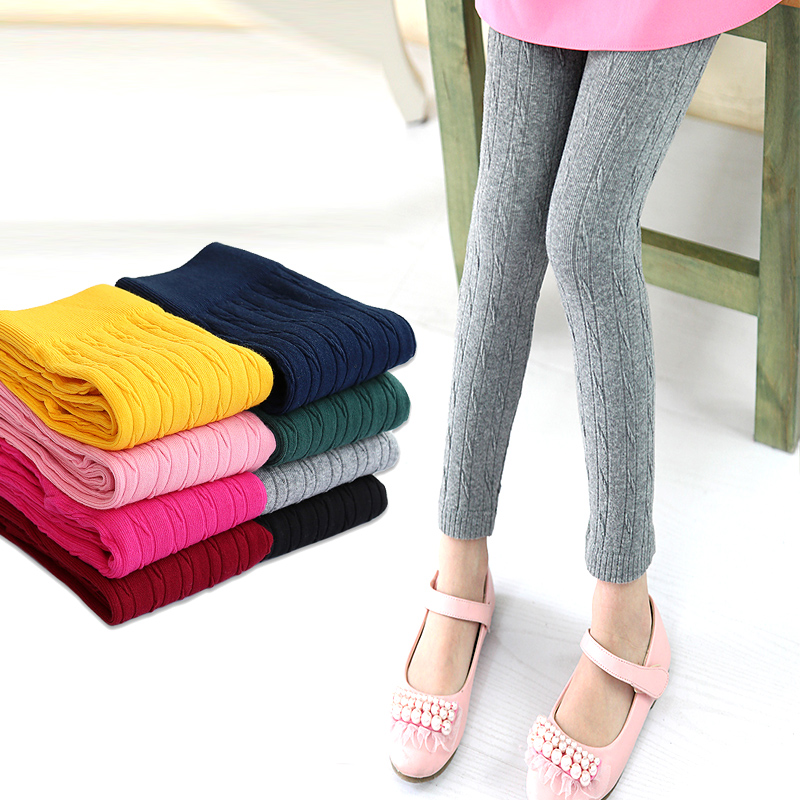 Girls Cotton Boot Cut Trousers Kids Pants for Girls Leggings Big Size Children Autumn Wear Fall Clothes 8 10 12 14 Years Pants free shipping new women boot cut jeans girls fashion bell bottom trousers mid waist flares pants size 25 32