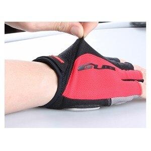Image 3 - قفازات GUB 2099 لركوب الدراجات نصف الأصابع ، قفازات رياضية للخارج مقاومة للصدمات ، مانعة للانزلاق ، تسمح بالتهوية للرجال والنساء ، قفازات لركوب الدراجة