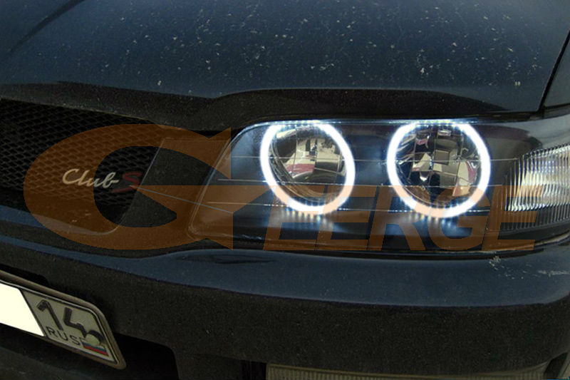 Для Nissan лаурель клуб S C35 1997 1998 1999 2000 2001 2002 ОТЛИЧНОЕ Ультра яркое освещение CCFL ангельские глазки комплект Halo Кольцо