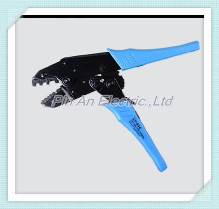 LY-03C wire stripper EUROP STYLE RATCHET crimping tool crimping plier 1.0-6mm2 multi tool tools hands