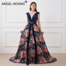 Angel Novias Real Picture Long Evening Dresses 2019