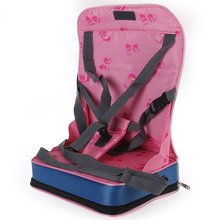 Baby Portable Seat Kids Feeding Chair for Child Infant Safety Belt booster Seat Feeding High Chair Harness Carrier(China)