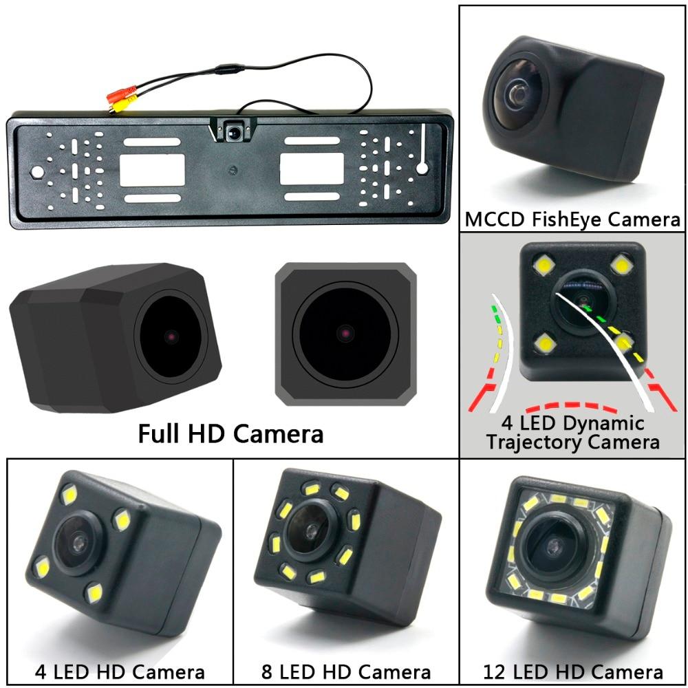 Full HD 1280*720 1000TV European License Plate Frame ...