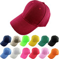 2016 Man Woman Baseball Hats New Brand Caps Casual Sports Snapback Hat Gorra Solid Hip Hop baseball Cap 19 colors ZDX001