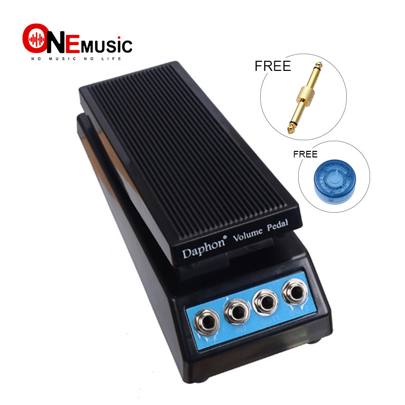 daphon guitar stereo volume pedal dj guitar effect pedal 1511a stereo in out free connector in. Black Bedroom Furniture Sets. Home Design Ideas