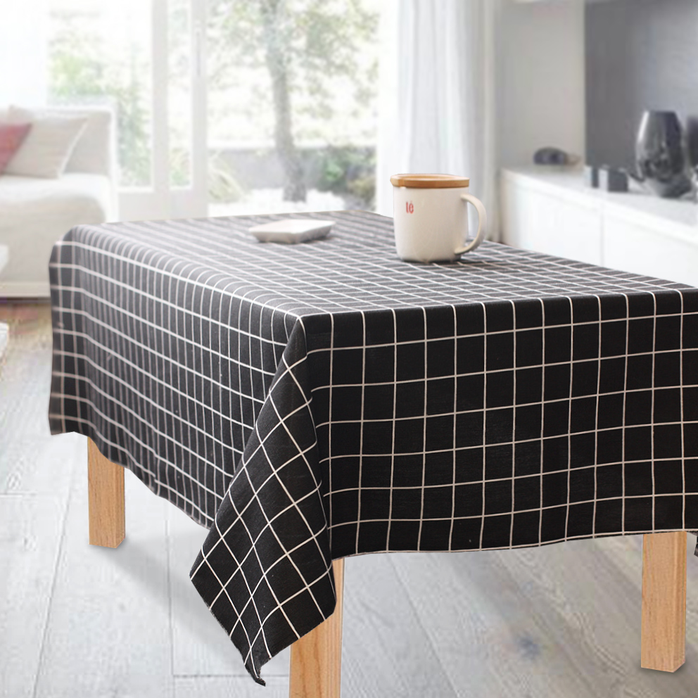Fabric Mylb Linen Fabric Printing Lattice Canvas Printing Tablecloths Pillow Curtains Polyester Cotton Canvas Free Shipping New Varieties Are Introduced One After Another