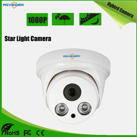 Starlight Sony IMX307 Hybrid AHD/CVI/TVI/CVBS 4 IN 1 CAMERA with 3.6mm lens 1080P High Resolution Dome Camera