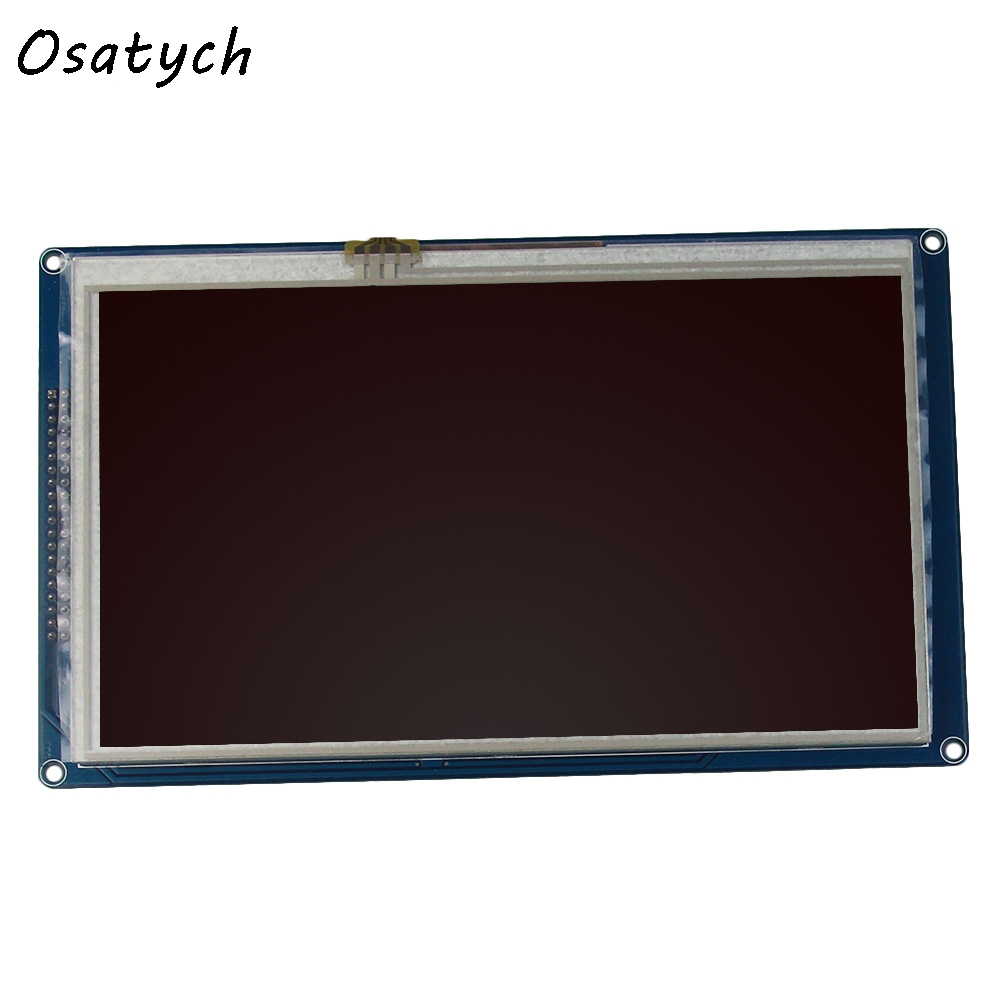 Original 7.0inch 800*480mm TFT Screen LCD Touch Screen Panel PCB Board Driver IC SSD1963 SD Card For Arduino цены