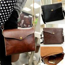 Frauen Vintage Handtaschen-schul Cross Body Tote Kupplung Schulter Umhängetasche 1QDR 2ULF