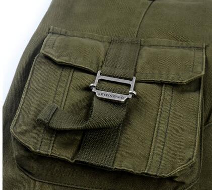 Мульти-карман личности модные хлопковые брюки мужские повседневные штаны Хомбре Брюки-Карго Облегающие штаны для мужчин мужские панталоны