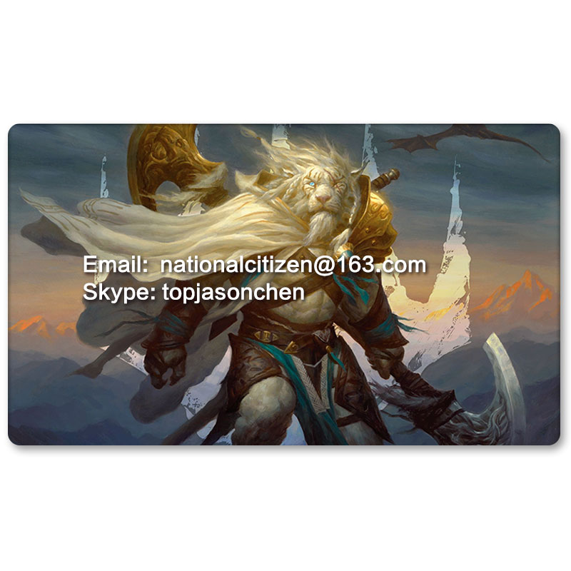 Many Playmat Choices - Ajani Steadfast - MTG Board Game Mat Table Mat for Magical Mouse Mat the Gathering