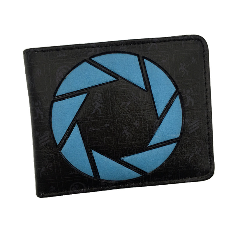 Free Shipping Game Portal Wallet Men's Purse With Card Holder Dollar Price цена
